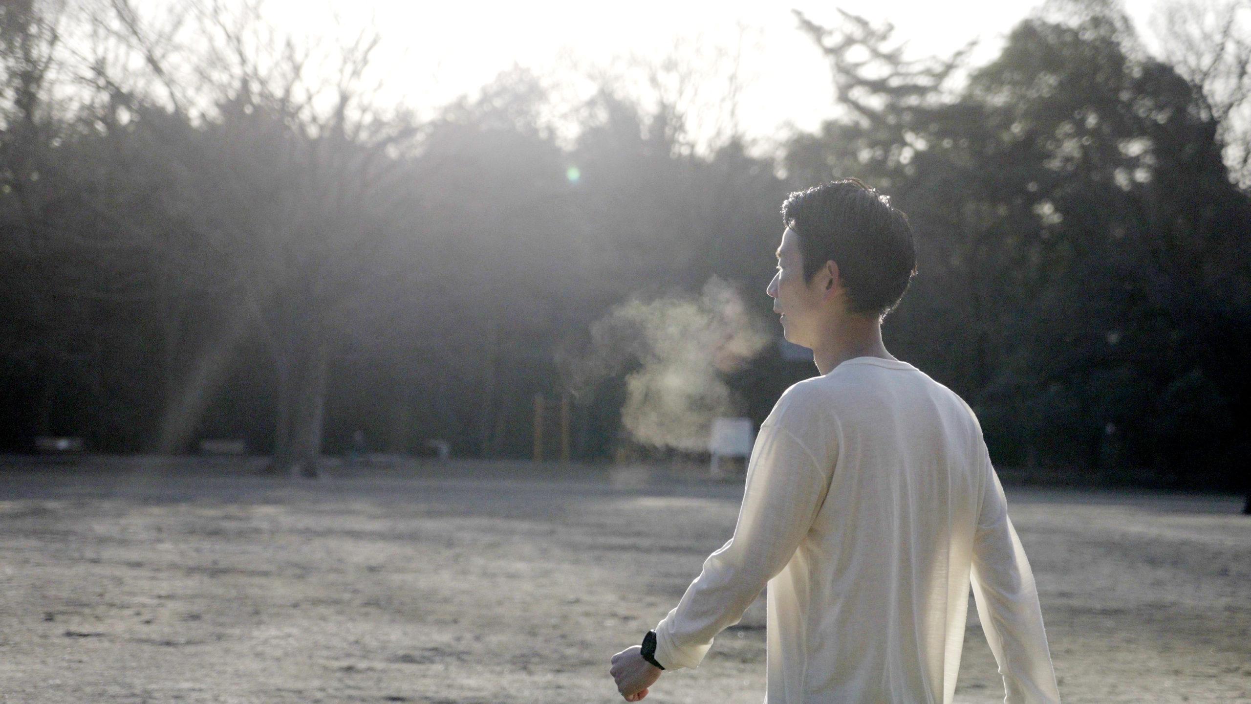 MORNING RUN WITH #001 TASUKU ARAI